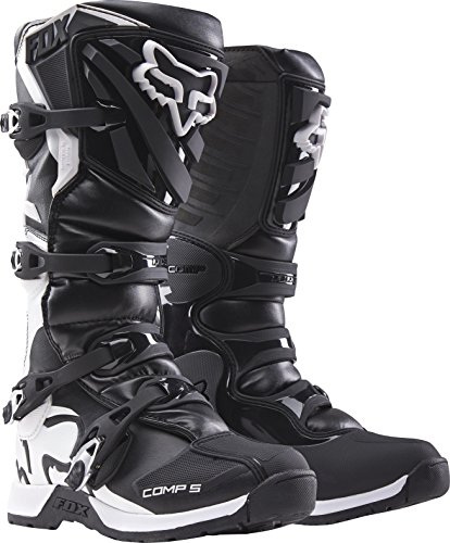 2018 Fox Racing Youth Comp 5 Boots-Black-Y4