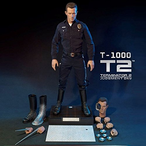 Captain America Avengers Costume Bad (Enterbay x Real Masterpiece (HD-1014) Terminator 2 The Judgment Day T1000 1:4 Figure)