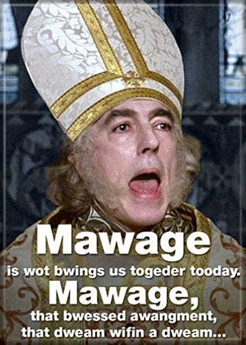 Ata-Boy The Princess Bride 'Mawage' 2.5
