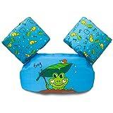 Chaleco Flotador de bebé para Piscina, Chaleco Salvavidas para niños de 30 a 50 Libras, Compatible con niños, Chaleco de natación con alas de Brazo para niños y niñas, Rana (Frog)