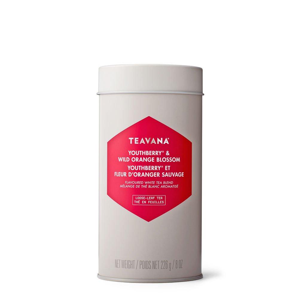 Youthberry Wild Orange Blossom Tea Blend by Teavana (8 oz tin)