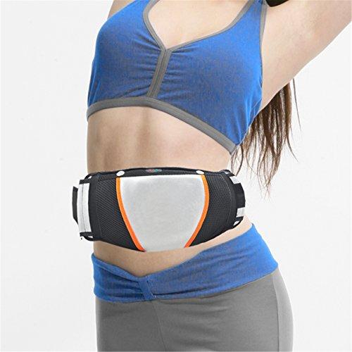 Denshine® Beauty Heating Massage Belt Body Building Lose Weight Vibration Burner Slim Belt