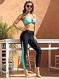ATTRACO Rash Guard Women Pants Long Swim Pants High