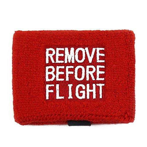 Remove Before Flight Brake Reservoir Covers by Reservoir Socks for Motorcycles, Sportbikes