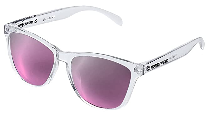 NORTHWEEK Regular Gafas de Sol, Rosa, 52 Unisex: Amazon.es ...