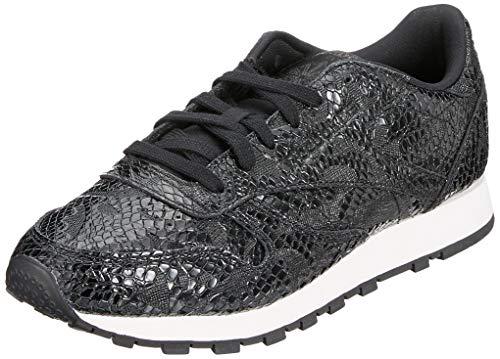 Silver chalk Lthr Luck Gymnastique dark black Femme il Cl lavender Multicolore Reebok De 000 Chaussures Ow1zxAqA