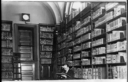 1920 Photo One of the stacks in the Library of Congress, Washington, D.C.