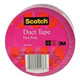 Scotch Duct Tape, 1.88-Inch x 20-Yard, 2m, Hot Pink, (920-PNK-CA)