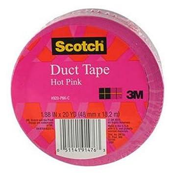 1.88-Inch by 20-Yard Sunshine Yellow 3M Scotch Duct Tape 920-YLW-C
