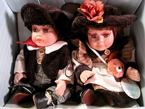 Show-Stoppers, Inc. Porcelain Dolls, Josh & Jodi, 2007,, for sale  Delivered anywhere in USA