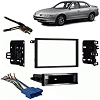 Fits Oldsmobile Intrigue 1998-2001 Double DIN Harness Radio Install Dash Kit