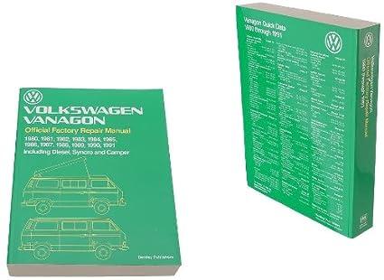amazon com bentley paper repair manual vw vanagon t3 automotive rh amazon com VW Type 2 bentley repair manual volkswagen vanagon