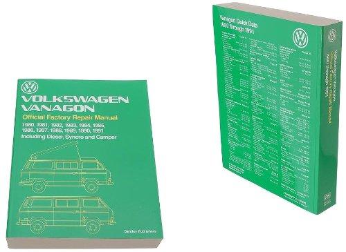Bentley Paper Repair Manual VW Vanagon (T3) by BENTLEY (Image #1)