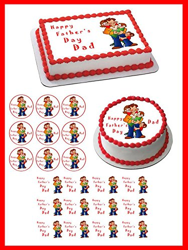 Fathers-Day-1-Edible-Cake-Topper-18-cupcake-20-piecessheet
