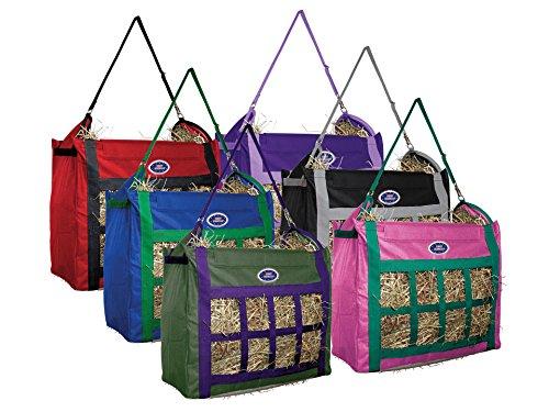 Derby Originals Top Load Nylon Horse Hay Bag, Hunter (Nylon Hay Feeder)