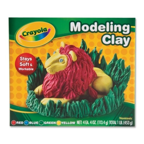 Wholesale CASE of 25 - Crayola Non-Drying Modeling Clay-Mode