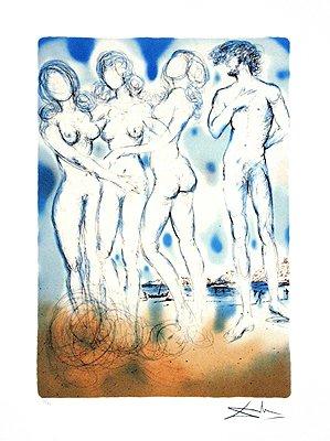 The Judgment of Paris (Paris Fine Art Print)