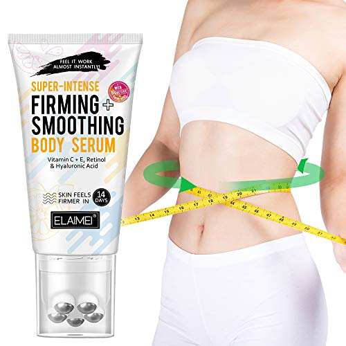 Hot Cream, Slimming Cream, Skin Firming + Smoothing Body Serum, Break Down Fat Tissue,Tightens & Moisturizes Skin, Body Fat Burning Best Weight Loss Cream for Shaping Waist, Abdomen and Buttocks 120ml