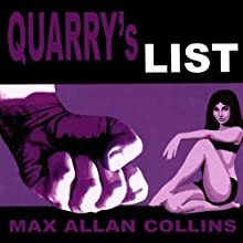 Quarry's List: A Quarry Novel Audiobook by Max Allan Collins Narrated by Christopher Kipiniak