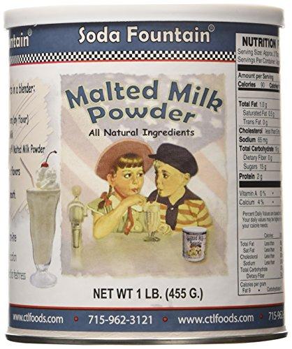 Malted Milk Powder - Soda Fountain Soda Fountain Malted Milk Powd