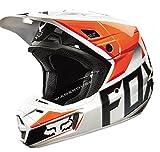 Fox Racing Race Men's V2 Motocross Motorcycle Helmet - Orange / Medium