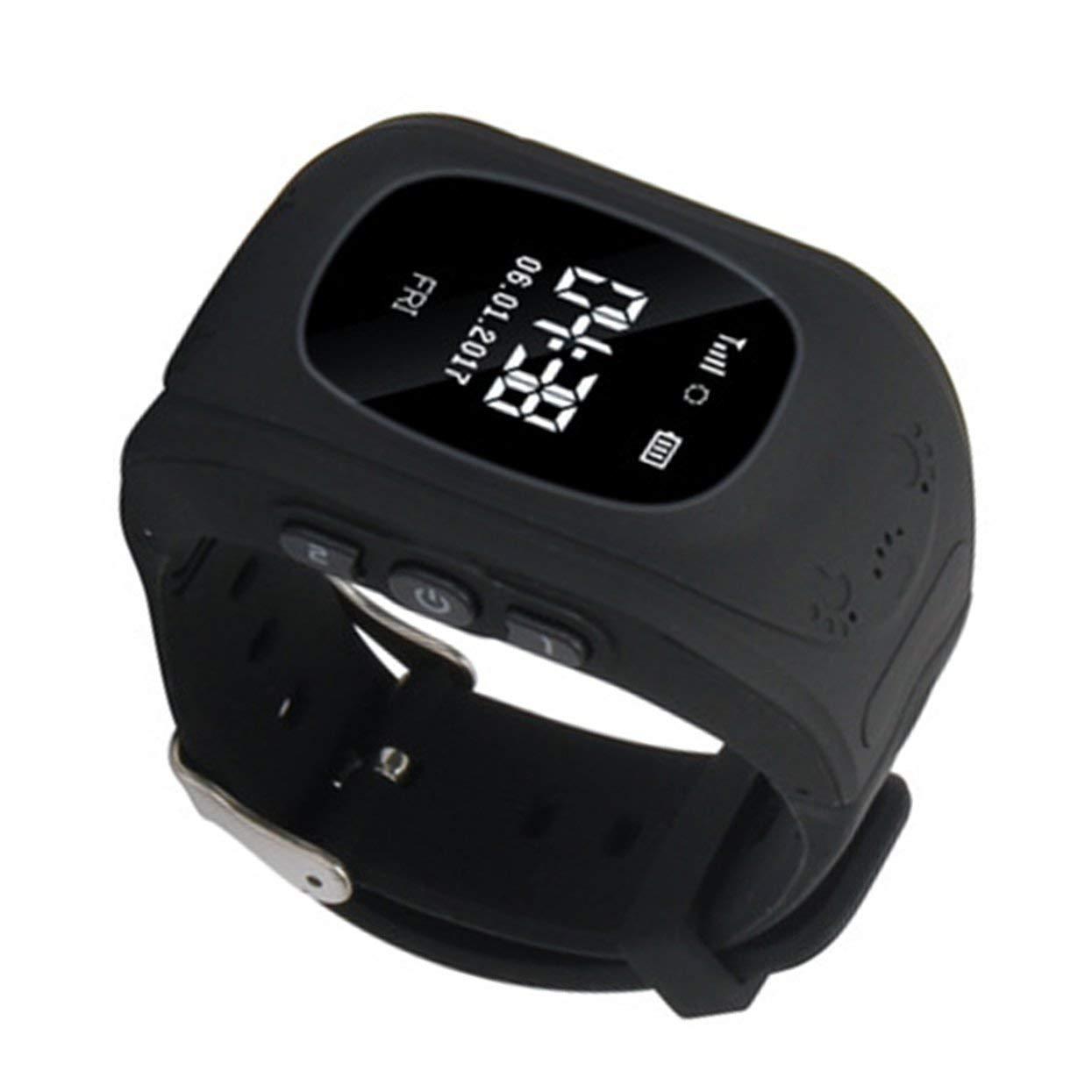 Tree-on-Life Q50 Anti Lost Child Rastreador GPS SOS Seguimiento de posicionamiento Teléfono Inteligente Niños GPS Reloj Práctico Compatible: Amazon.es: ...