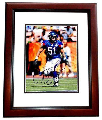 Lofa Tatupu Signed - Autographed Seattle Seahawks PRO BOWL 8x10 inch Photo  MAHOGANY CUSTOM FRAME - f868e8579