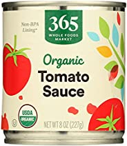 365 Everyday Value Organic Tomato Sauce, 8 Oz