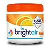 Bright Air Solid Air Freshener and Odor Eliminator, Mandarin Orange and Fresh Lemon Scent, 14 Ounces