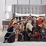 Baulerd Cole Sprouse Collage Ultra-Soft Micro Fleece Blanket 60'' x50