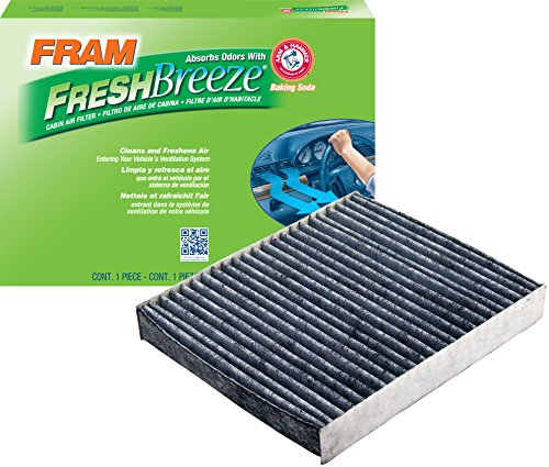 FRAM CF10776 Fresh Breeze Cabin Air Filter with Arm & Hammer