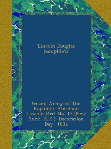 Download Lincoln Douglas pamphlets ebook