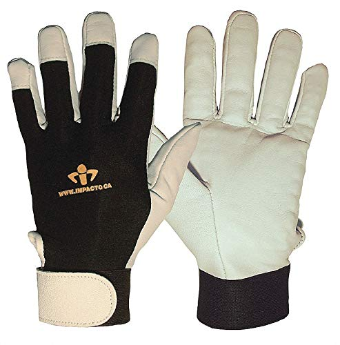 Impacto US41330 - Anti-Vibration Gloves Leather M PR