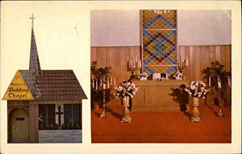Overland Hotel Wedding Chapel Reno Nevada Original Vintage Postcard