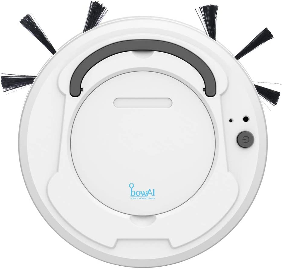 XBYEE Robot Vacuum and Mop 3 in 1-1800PA Smart Sweeping Robot Sweep Suction Drag Machine Wet and Dry Vacuum, Robot Vacuum Cleaner Pet Hair (White)