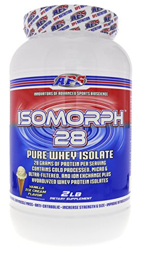 APS Nutrition IsoMorph, AAA-rated Pure/Highest Quality Whey Isolate  Protein Supplement, Vanilla Ice Cream, 2 Pound (Aps Whey)