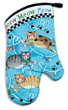 Kay Dee Designs Cotton Oven Mitt, 13-Inch, Meow