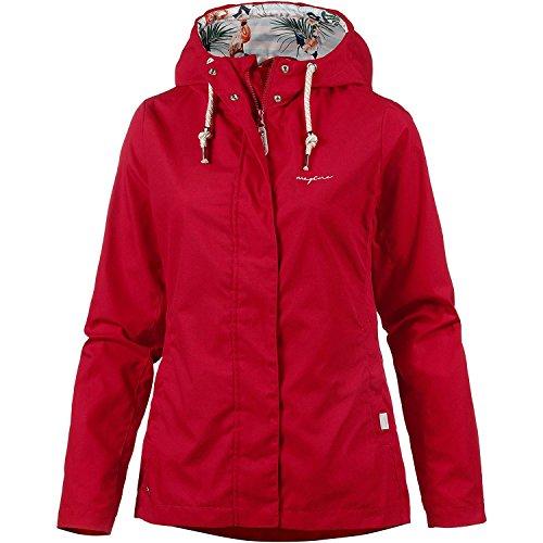 Mazine Chaqueta con capucha para mujer rojo