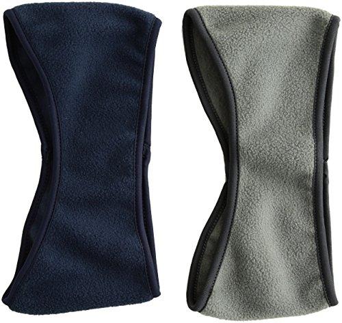 GoYonder Fleece Thermal Headbands Ear Warmers Ear Muffs (Set of 2 Colors) from GoYonder