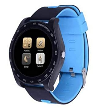 HOYHPK Reloj Deportivo con Bluetooth Relojes Inteligentes Podómetro Reloj De Vigilancia para Dormir Relojes para Hombres Reloj con Reproductor De Video ...