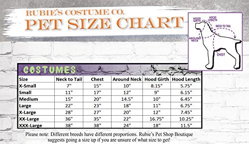 Rubie's Unicorn Cape with Hood and Light-Up Collar Pet Costume, Extra-Large by Rubie's (Image #3)