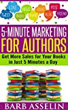 "Spend just 5 minutes a day promoting your books to bestseller status!Are you a published author looking to promote your book or books?Are you hoping to publish a book soon and wondering how you are going to promote your new book?Do you have a ""day j..."