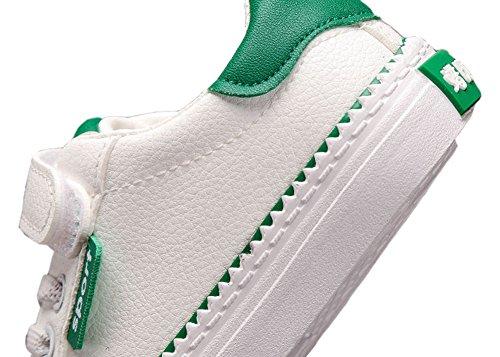 VECJUNIA Jungen Mädchen Sport und Outdoor Sneaker Trekking Wanderschuhe Kinderschuhe Grün