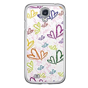 Loud Universe Samsung Galaxy S4 Love Valentine Printing Files A Valentine 129 Printed Transparent Edge Case - Multi Color