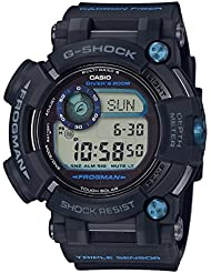 Mens Casio G-Shock Master of G FROGMAN Watch GWFD1000B-1