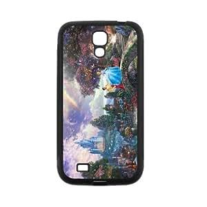 Creative Cinderella Super Cool Phone Shell Case for SamSung Galaxy S4 I9500,TPU+PC Diy Galaxy s4 Cover Case s4-linda261