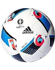 adidas, EURO 2016 Official Match, Bright Blue/Night Indigo, maat 5