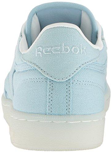 Reebok Womens Club C 85 Scarpe Da Corsa In Tela Zee Blu / Bianco