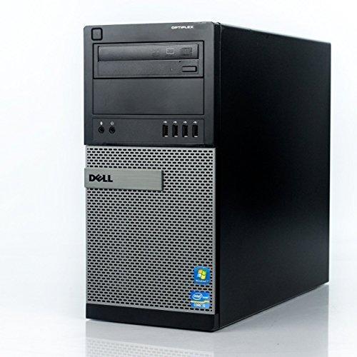 Dell Optiplex 990 Tower Premium Business Desktop Computer (Intel Quad-Core i7-2600 up to 3.8GHz, 16GB RAM, 2TB HDD + 240GB SSD, DVD, WiFi, Windows 7 Professional) (Certified Refurbished)