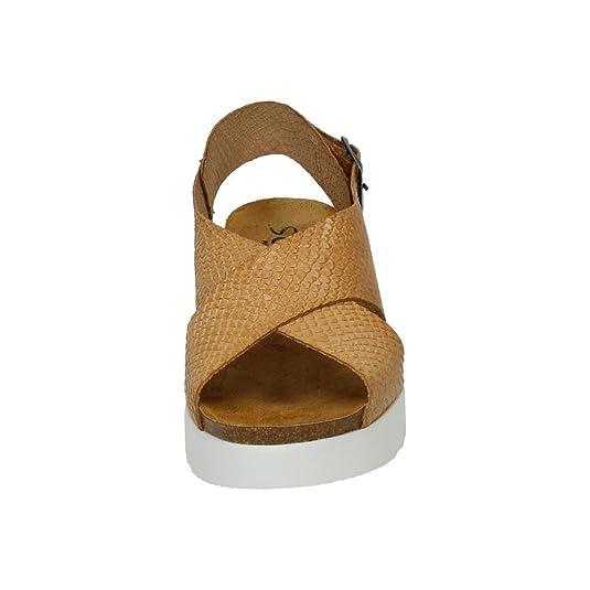 4319389abdb MADE IN SPAIN 10312 Sandalia con CUÑA Mujer Sandalias Serpiente 40   Amazon.es  Zapatos y complementos